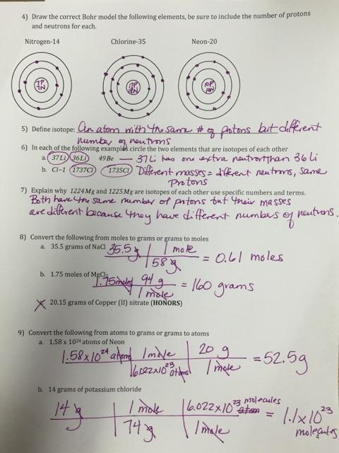 Documents & Powerpoints - Kenwood Academy Chemistry